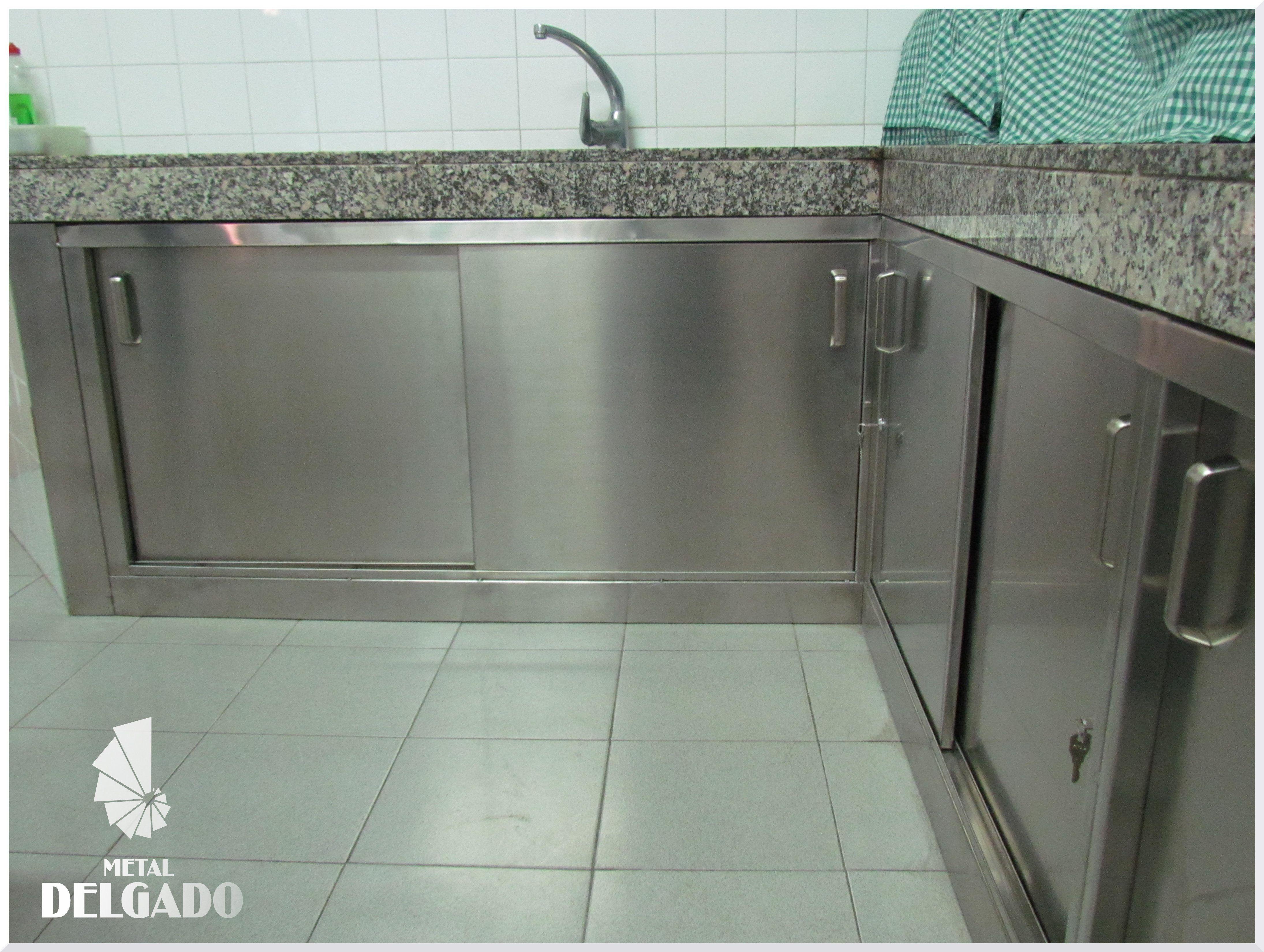 COCINA-ACERO-INOXIDABLE - Metal Delgado S.L.