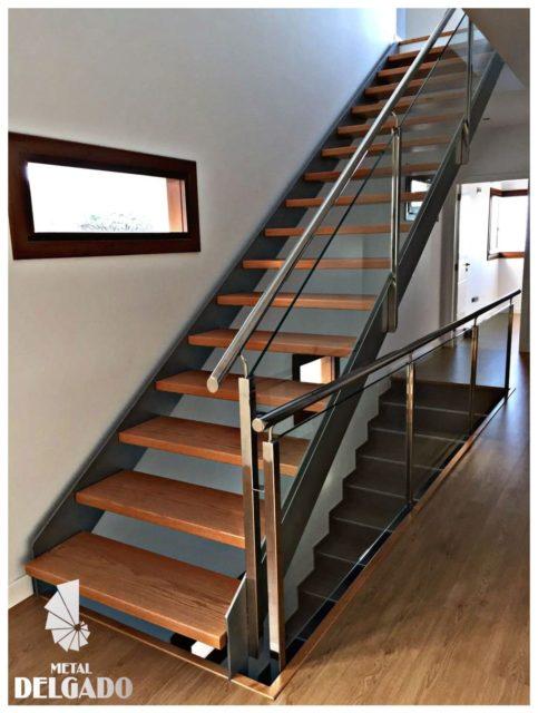 Estructura escalera interior