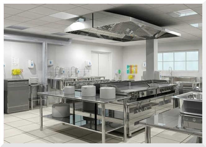 cocina industrial acero inoxidable