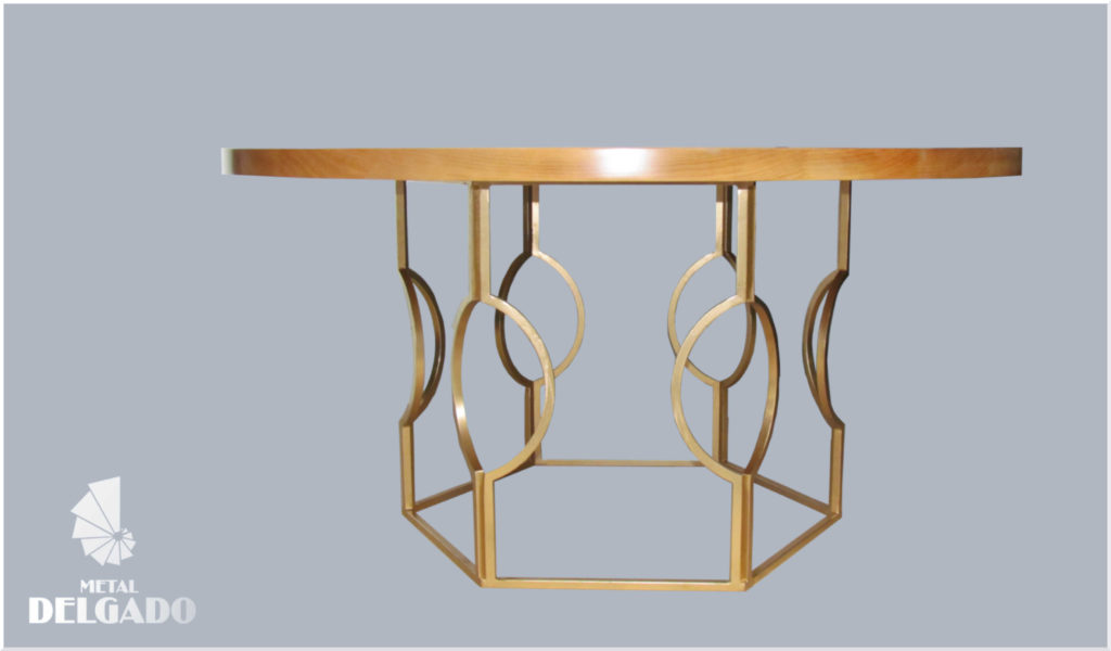 mesa-diseño-dorada