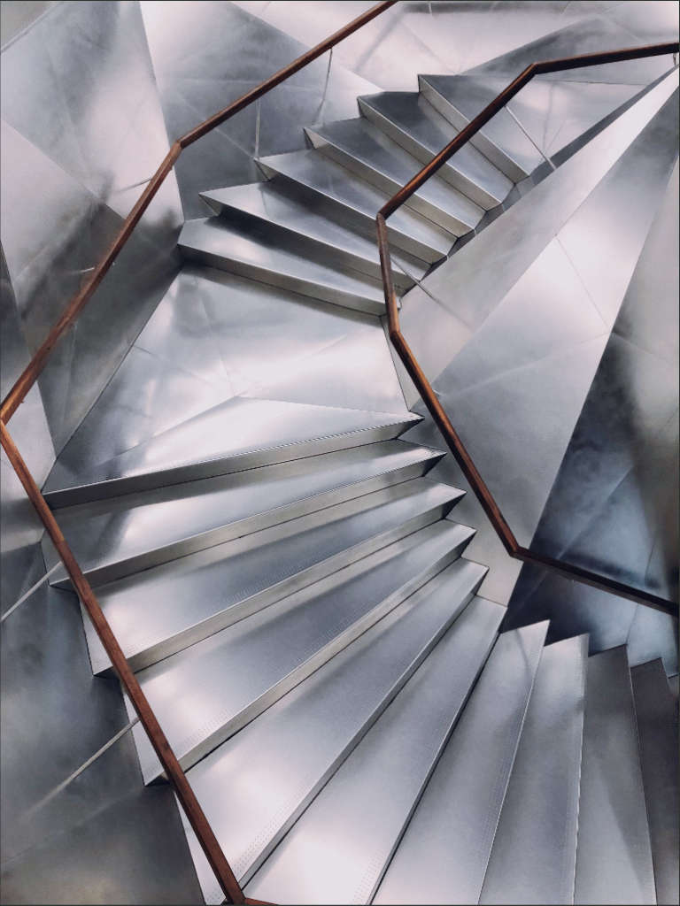 escalera metalica acero inoxidable tenerife