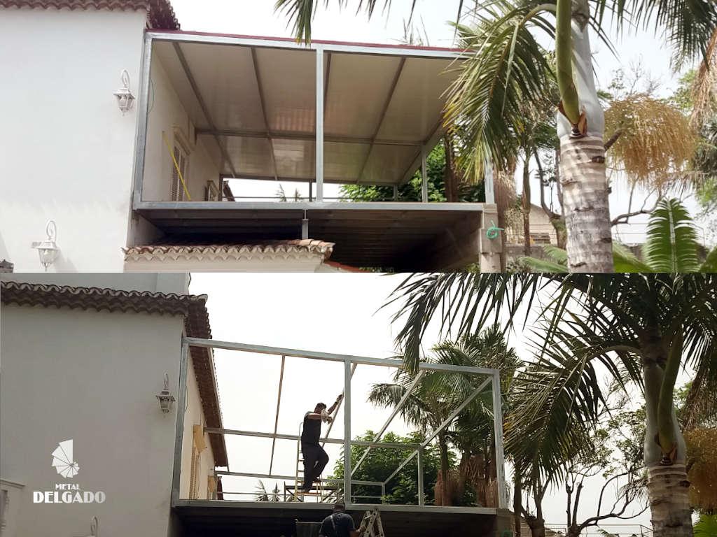construcciones metalicas estructura techo tenerife