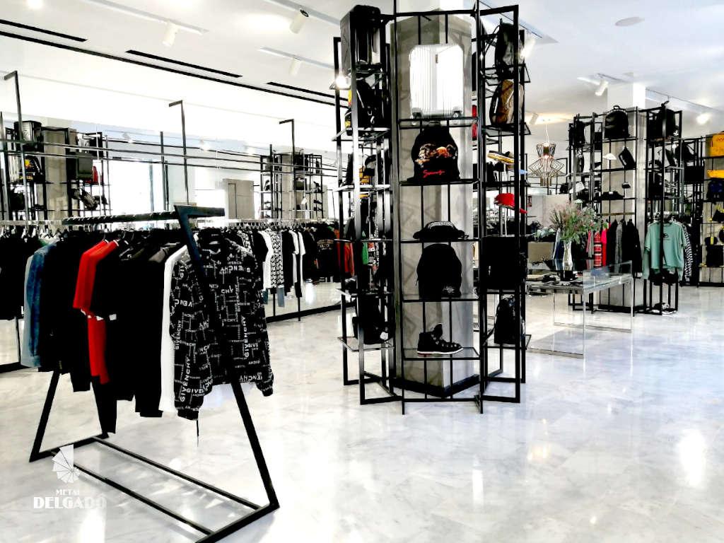 mobiliario exclusivo para tiendas de moda tenerife