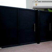 puerta batiente de garaje tenerife